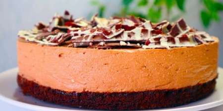 Шоколадный творожный ЧИЗКЕЙК Нежнее Нежного!Простой домашний рецепт без духовки, без Желатина