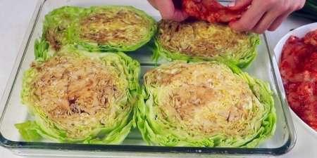 Гениально Простое Блюдо из Капусты и Курицы!Очень ЛЕНИВЫЙ ужин(Обед)
