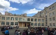 В Киеве на Минском массиве возник пожар в школе