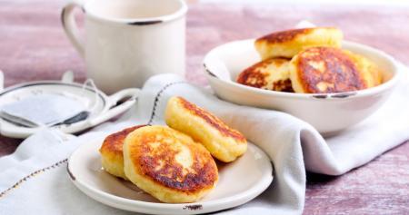 Творожные сырники: быстрый рецепт