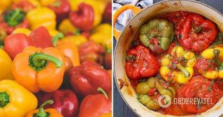 Фаршированный перец: рецепт наилучшей начинки